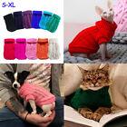 Winter Warme Katze Hund Kleidung Pullover für Kleine Yorkie Haustier Mantel S XL
