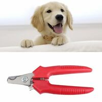 Stainless Steel Guillotine Claw Nail Clippers For Dogs Grooming Cutter Trimmer