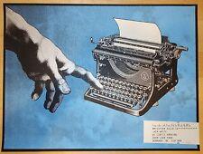 2014 Jack White - Burnaby Silkscreen Concert Poster by Rob Jones S/N
