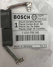 Genuine Bosch Carbon Brushes 1619P06346 for GKS 190 GKS 67 Circular Saw S31