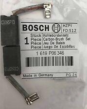 Genuino Bosch Escobillas De Carbón 1619P06346 para GKS 190 GKS 67 Sierra Circular S31