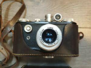 Corfield Periflex I black with Lumar 50mm f3.5