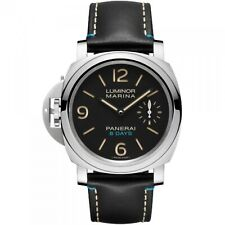 New Panerai Luminor Left-Handed 8 Days Stainless Steel 44 mm Watch PAM00796
