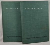 Digital Computer Technology and Design 2 Volumes Willis H. Ware (1963 HCs)