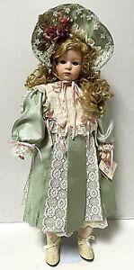 "Vintage 25"" Belles Bébés Emily Graham Limited Edition Porcelain Erica Doll"