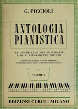CURCI Piccioli Giuseppe - ANTOLOGIA PIANISTICA, volume 1