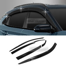 Smoke Window Sun Vent Visor Rain Guards Garnish D775 6P For HYUNDAI 2018 Kona