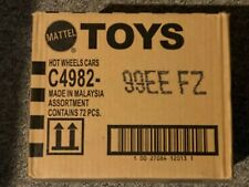Hot Wheels 72 car Count case Worldwide C4982 99EE FZ E Case Sealed New