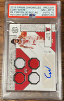 2019-20 Panini Chronicles Coby White Rookie Patch Auto RPA Cornerstones /99