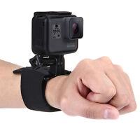 PULUZ Adjustable Wrist Mount Strap Belt for GoPro/Xiaoyi/DJI/Gamin Sports Camera