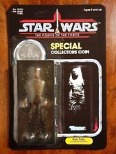 Vintage Star Wars Han Solo in Carbonite Power of the Force Recard 1985 Last 17
