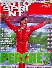 Autosprint 18 1990 La stampa italiana crocifigge Mansell. La F1 di Jordan  SC.54