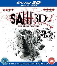 Saw: The Final Chapter 3D (3D Blu Ray/Blu Ray combo set)