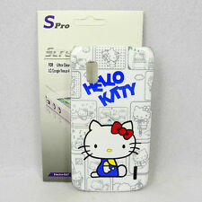 For Google Nexus 4 LG E960 Hello Kitty Phone Case + Spro Screen Protector