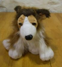 "Ganz COLLIE DOG 9"" Plush Stuffed Animal"