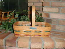 Longaberger 1992 Bee Basket Small Gathering Size with Plastic Protector New
