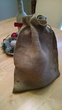 "10 Burlap Bags with Drawstring Large 9x12"" Party Favors Wedding Gift Birthday!"