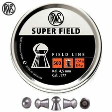 5000 .177 4.5mm RWS Superfield Air Rifle Pistol Pellets 10x Tins
