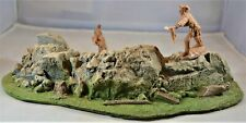 Atherton Scenics Painted Multi-Scale Curved Rock Defensive Position