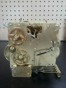 Franz Hermle 340-020 - German Clock Movement PARTS OR REPAIR