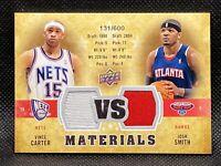 🔥2009-10 UD Vince Carter Josh Smith Slam Dunk🏆 VS Materials GU Jersey/600