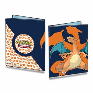 ULTRA PRO Pokemon 9 Pocket Charizard Portfolio Binder Album Holds 90-180 Cards