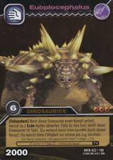 Trading card * DINOSAUR KING * EUOPLOCEPHALUS * mint
