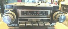 Works!73-77 Chevy Pontiac Oldsmobile Buick Delco AM/FM Stereo 8 Track Tape Radio
