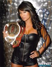 "GAIL KIM Official Autographed 8x10 Photo Signed 2 You TNA WWE Titles ""A"""