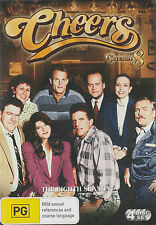CHEERS Season 8 Brand New but UNSEALED 4-DVD Set Region 4  UPC: 9324915078048  I