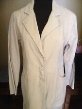 Excitation 2 Pc.CamelColorCorduroy LongSleeves Blazer/Skirt Set ButtonFront Sz M