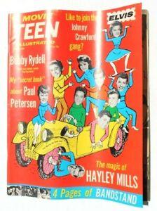 Vtg Johnny Crawford's Personal Star Celebrities Magazine - Aug 1963 Movie Teen