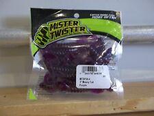 "Mr Twister 3"" Meeny Tail Purple 20/pack"