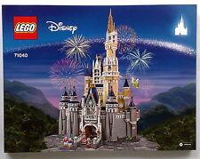 Lego Original Bauanleitung für Disney Castle 71040 Neu