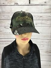 Fleet Pride Truck & Trailer Parts Camo Baseball Hat Cap Adjustable Prima Power.