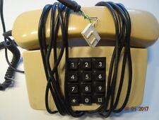 591 Rarität, alt TELEFONAPPARAT Knopftelefon. Baujahr 83, 34 Jahre alt