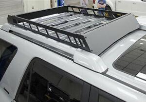 N-FAB Textured Aluminum Modular Roof Rack For 10-20 Toyota 4 Runner T102MRF