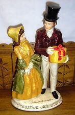 """1947 Signed Statue - Sebastian Miniatures - Repaired - 15 1/4"""""""