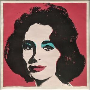 ANDY WARHOL II.7: LIZ 1967 | RARE HAND SIGNED PRINT | OTHERS AVAILABLE | GALLART