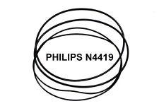 SET CINGHIE PHILIPS N4419 N 4419 REGISTRATORE A BOBINE BOBINA NUOVE FRESCHE!!!