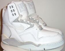 VINTAGE 90's NIKE AIR ULTRA FORCE HIGH (WHT/ GRY) BASKETBALL SHOES 8.5 NEW