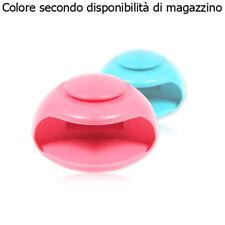 Asciuga smalto LED UV mani piedi USB manicure pedicure nail art salone unghie