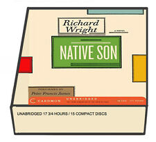 Native Son by Richard Wright (Audio CDs / Unabridged) 15 CDs 17.75 hrs NEW