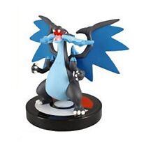 "Pokemon XY 1/40 Scale Mini Figure Aprox 2.5"" Mega Charizard X Figure"