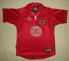 Bristol City FC / 2001-2002 Home - ADMIRAL - VTG JUNIOR Jersey / Shirt. Size: MB