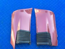 Porsche 911 Carrera 86-89 Factory RedVelvet Rear Bumper Extensions W/ Accordion