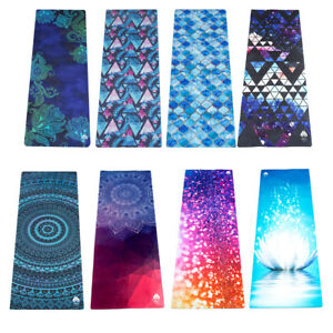 Yoga Mat Exercise Camping Pilates Fitness Physio Gym Workout With Strap 1.5mm