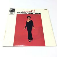 Carol Ventura 'Carol!' UK Stateside 1965 Vinyl LP VG+/VG+ Nice Factory Sample!