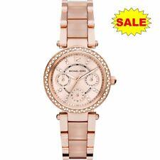 *NEW* Michael Kors Ladies Rose Gold MINI PARKER Watch MK6110 -Gift For Her - UK