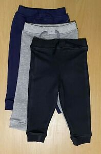 3-6//6-9//9-12 Months Baby Infant Boys Trousers with feet Pands 100/% Cotton BNWT
